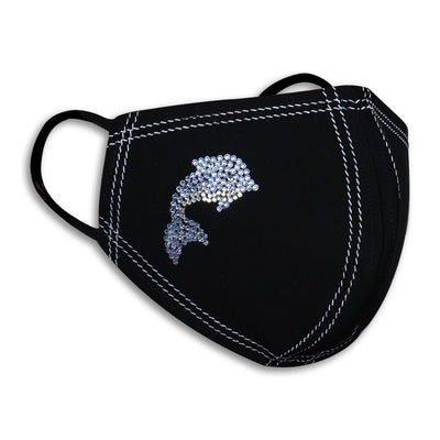 Sukkhi Designer Swarovski Studded Breathable Cotton Reusable and Washable Anti-Pollution Unisex Mask