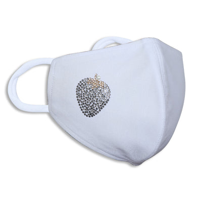Sukkhi Amazing Swarovski Studded Breathable Cotton Reusable and Washable Anti-Pollution Unisex Mask
