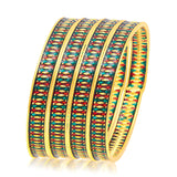 Sukkhi Youthful Gold Plated Bangle For Women