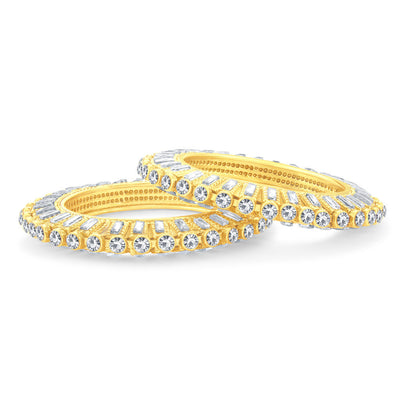 Sukkhi Blossomy Gold Plated Bangle For Women-2