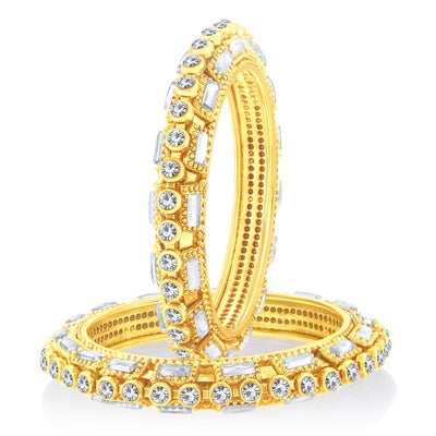Sukkhi Glorious Gold Plated Bangle For Women