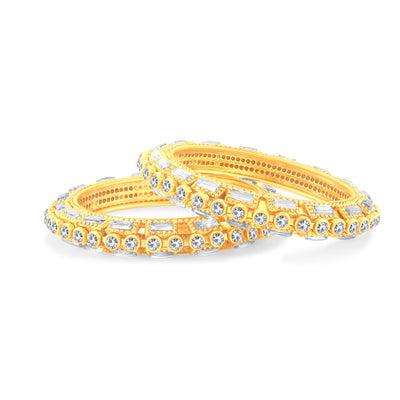 Sukkhi Glorious Gold Plated Bangle For Women-2