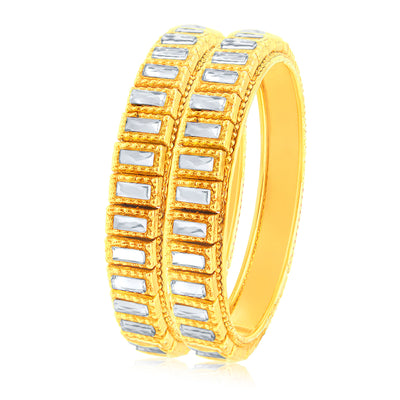 Sukkhi Marquise Gold Plated Bangle For Women-1