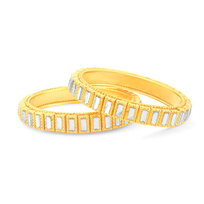Sukkhi Marquise Gold Plated Bangle For Women-2