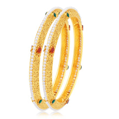 Sukkhi Divine Gold Plated Bangle For Women