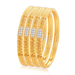 Sukkhi Incredible Gold Plated Bangle For Women