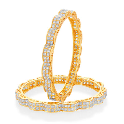 Sukkhi Marvellous Gold Plated Bangle For Women