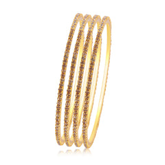 Sukkhi Sublime LCT Stone Gold Plated Bangle For Women