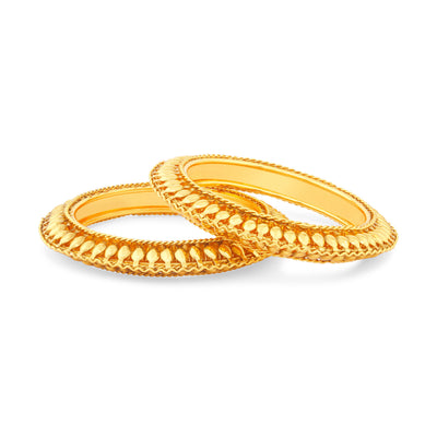 Sukkhi Eye-Catchy Gold Plated Bangles For Women Set Of 2-1