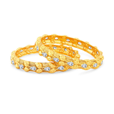 Sukkhi Pretty Gold Plated Bangles For Women Set Of 2-1
