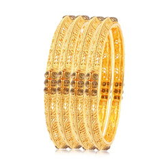 Sukkhi Alluring Gold Plated Bangles For Women Set Of 4