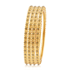 Sukkhi Astonish Gold Plated Bangles For Women Set Of 4