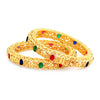 Sukkhi Classic LCT Gold Plated Bangle Set For Women (Set of 2)