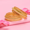 Sukkhi Brilliant Gold Plated Bangle For Women (Set of 2)