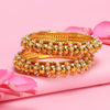Sukkhi Alluring Gold Plated Bangle For Women (Set of 2)