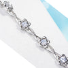 Sukkhi Exclusive  Adjustable Crystal Rhodium Plated Bracelet for Women