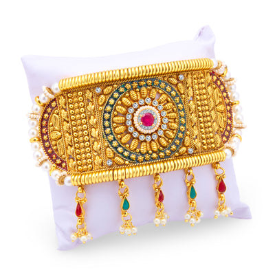 Sukkhi Incredible Gold Plated Bajuband For Women-2