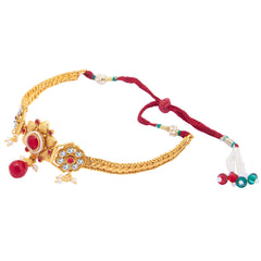 Sukkhi Glimmery Gold Plated Bajuband For Women