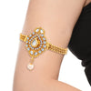 Sukkhi Graceful Gold Plated AD Bajuband For Women-1
