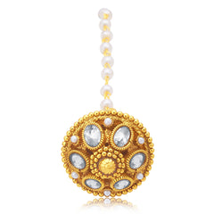 Sukkhi Glamorous Gold Plated Borla For Women