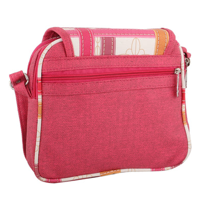 Sukkhi Must-Have Pink Sling Bag-1