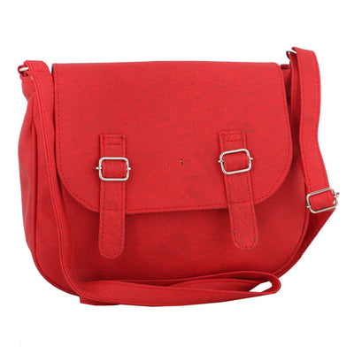 Sukkhi Unique Red Sling Bag