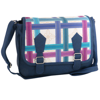 Sukkhi Stylish Blue CrossBody Sling Bag
