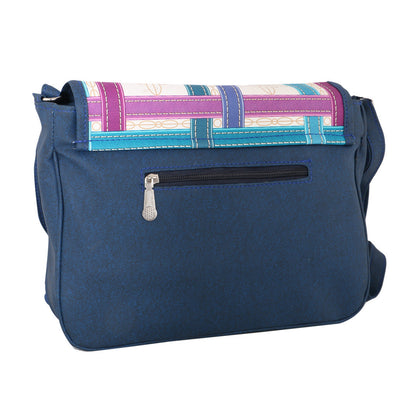 Sukkhi Stylish Blue CrossBody Sling Bag-1