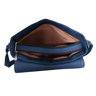 Sukkhi Stylish Blue CrossBody Sling Bag-2