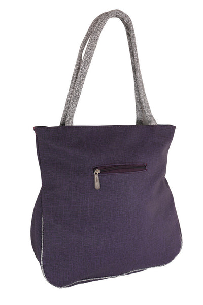Sukkhi Blue Multi-pocket Shoulder Handbag-1