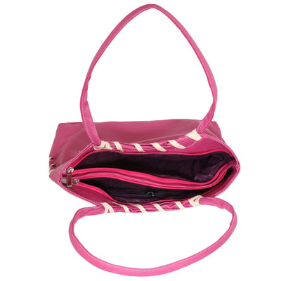 Sukkhi Pink Stylish Shoulder Handbag-2