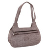 Sukkhi Grey Stylish Shoulder Handbag