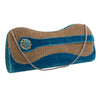 Sukkhi Designer Blue and Gold Clutch Handbag