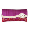 Sukkhi Opulent Purple Clutch Handbag