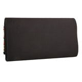 Sukkhi Embellished Matte Black Clutch Handbag-1