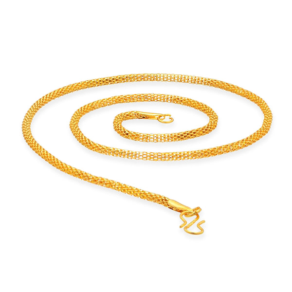 Sukkhi Creative Gold Plated Chain