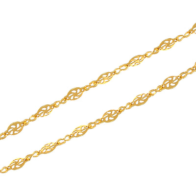 Sukkhi Trendy Gold Plated Unisex chain