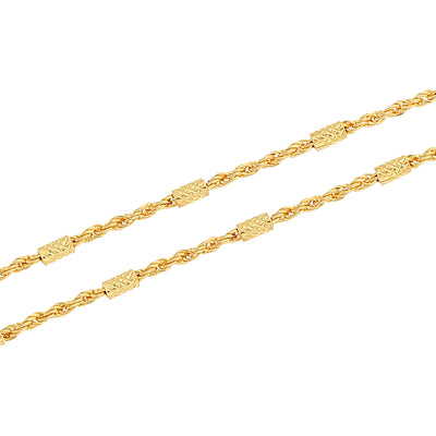 Sukkhi Charming Gold Plated Unisex Rope chain