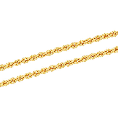 Sukkhi Dazzling Gold Plated Unisex Rope chain