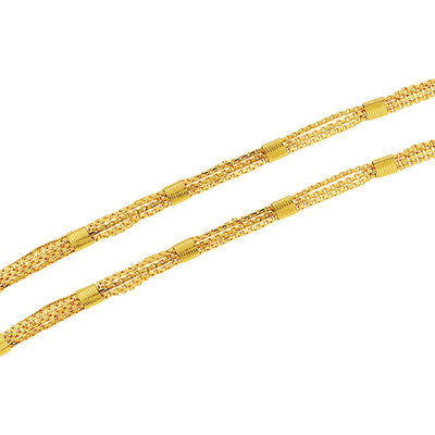 Sukkhi Spectacular Gold Plated Unisex Box chain