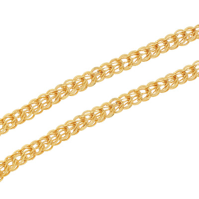 Sukkhi Gleaming Gold Plated Unisex Chain