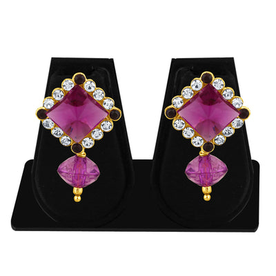 Sukkhi Marquise Pearl Gold Plated Set of 3 Pair Drop Earring Combo For Women-6