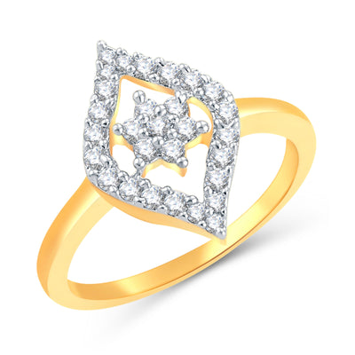 Sukkhi Alluring Gold Plated CZ Set Of 4 Ring Combo For Women-1