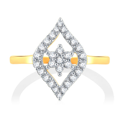Sukkhi Alluring Gold Plated CZ Set Of 4 Ring Combo For Women-2