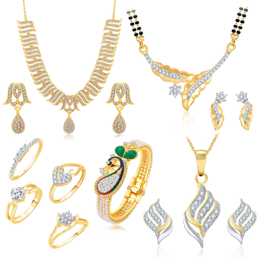 Necklace Combos- Buy Different Designer Necklace Combos Online ...