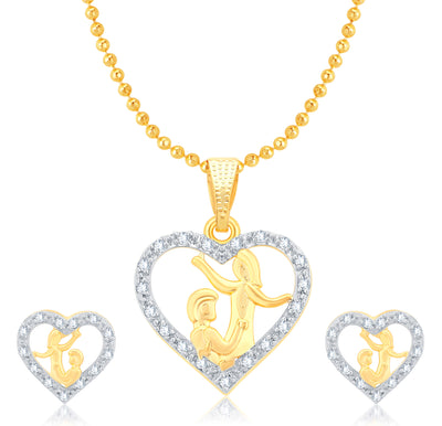 Sukkhi Valentine Collection Sublime Peacock Gold Plated CZ Combo For Women Pack Of 5-1