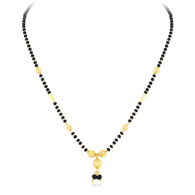 Sukkhi Glimmery Gold Plated Mangalsutra Combo For Women