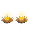 Sukkhi Best Selling Sunflower Yellow Diya Candle