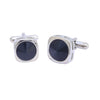 Sukkhi Rhodium Plated Square Cufflinks For Men