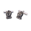 Sukkhi Warrior Rhodium Plated Cufflink For Men